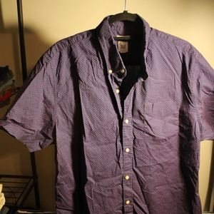 Men's GAP Short Sleeve Button Up